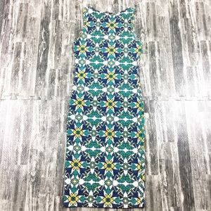Forever 21 Dresses - Forever 21 Dress Body Con Green Blue Size Small